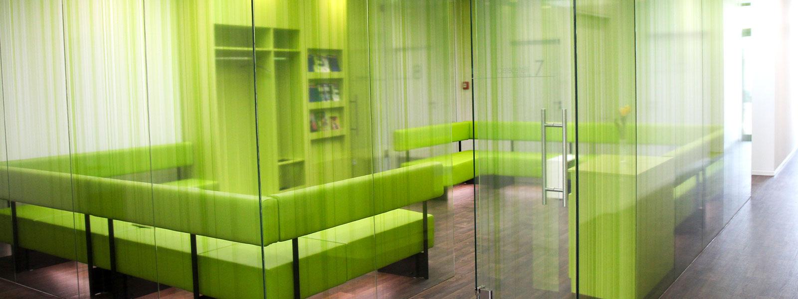Wartebereich des Medizinischen Versorgungszentrums Günzburg